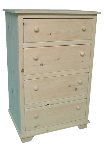 Nith River Rustic 4 Drawer Hiboy