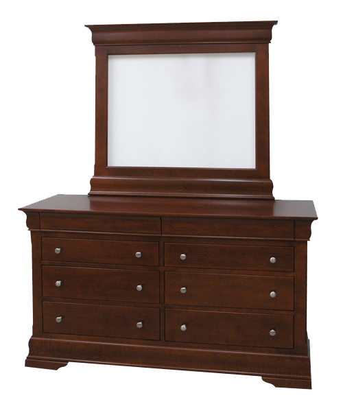 Phillipe 8 Drawer Double Dresser