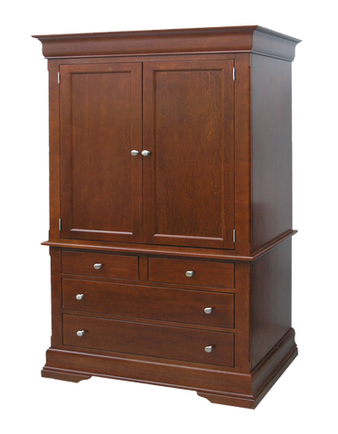 Phillipe 4 Drawer Wide Armoire