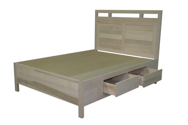 Urbana Panel Bed with 4 Drawers