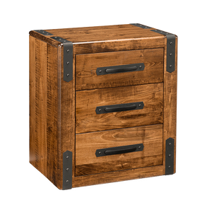 Union Station 3 Drawer Nightstand
