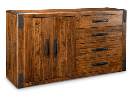 Union Station 4 Drawer 2 Door Sideboard 410