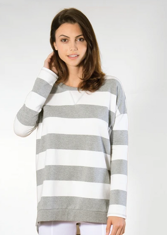 Nautical Striped Pullover