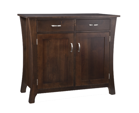 Yorkshire 2 Drawer 2 Door Sideboard