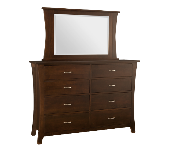 Yorkshire 8 Drawer Double Dresser