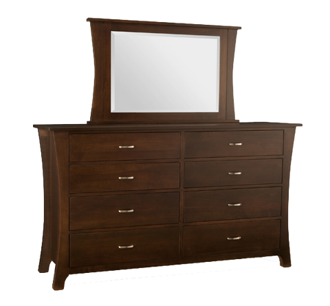 Yorkshire 8 Drawer Long Double Dresser