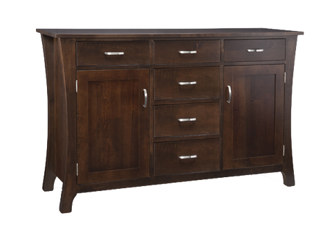 Yorkshire 6 Drawer 2 Door Sideboard