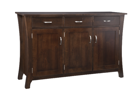 Yorkshire 3 Drawer 3 Door Sideboard