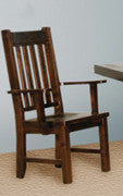 Yukon Slat Back Arm Chair