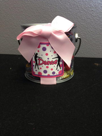Dancer's Candy Bucket