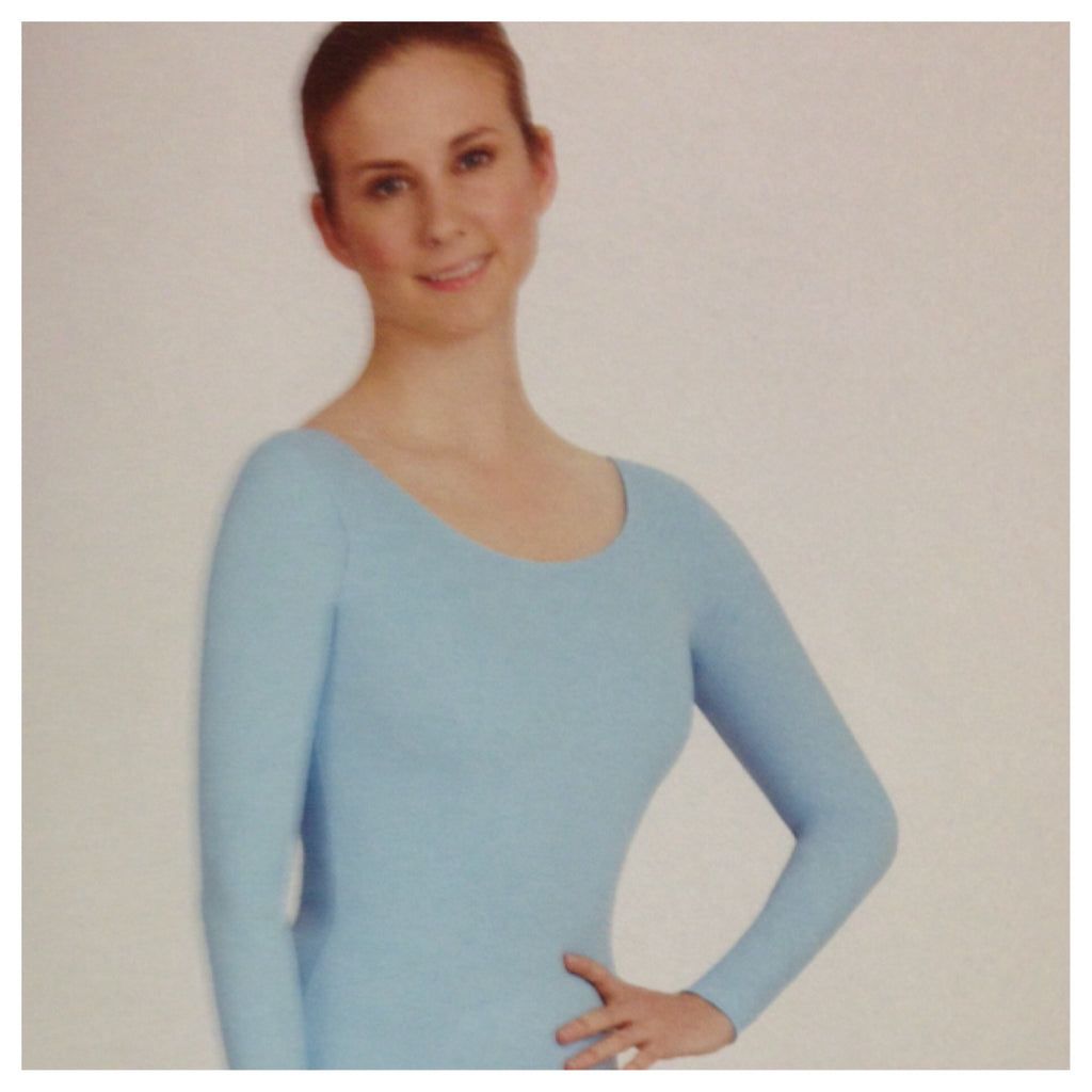 Adult Long Sleeve Plus Leotard (TB135X)