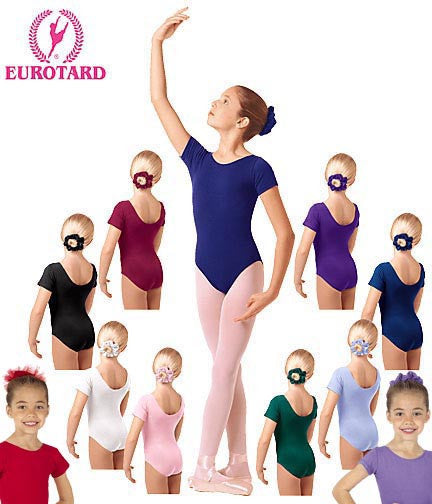 Child Short Sleeve Leotard (1043)