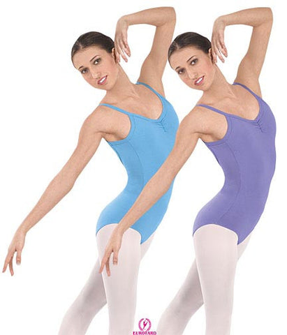"Adult Pinch Front ""V"" Back Camisole Leotard (10527)"