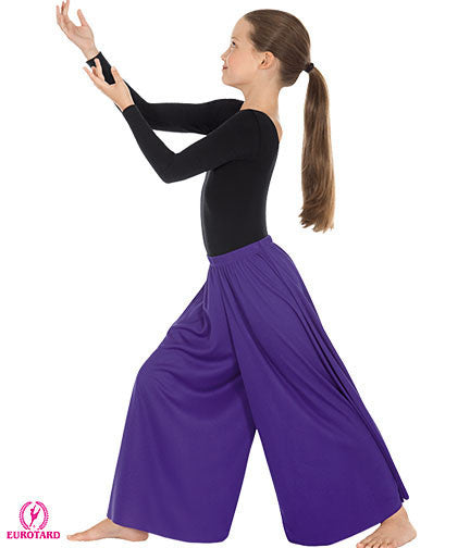 Child Polyester Palazzo Pants (13696c)