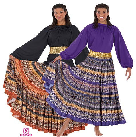 fiesta skirt with belt