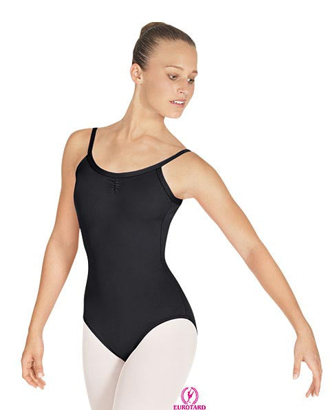"Adult Tall Pinch Front ""V"" Back Camisole Leotard (25527m)"