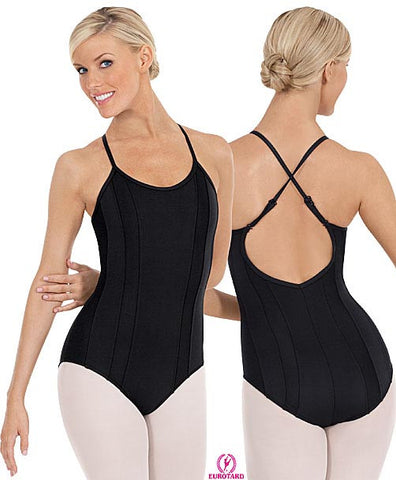 Adult Microfiber Leotard w/Adjustable,Convertible Straps (33815)