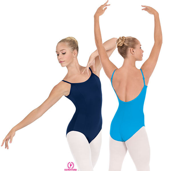 Adult Princess Seam Camisole Leotard w/Adjustable,Convertable Straps (4464)