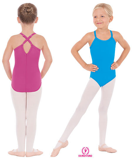 Child Princess Seam Camisole Leotard w/Adjustable,Convertable Straps (4464c)