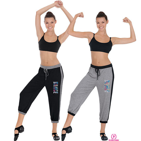 Adult Capri Pants w/Dance Design (48885)