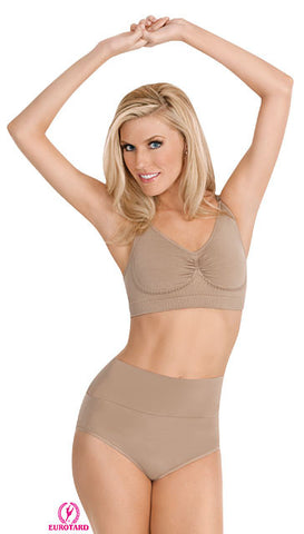 Adult Comfort Fit High-Rise Panty w/Wide Control Waistband (95155)