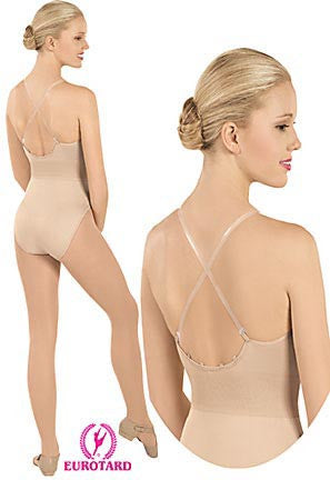 Adult Confort Fit Camisole Liner w/Removable, Adjustable Matching & Clear Straps & Multi-Position Back Tabs (95706)