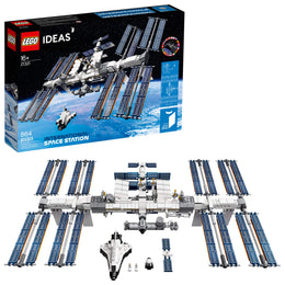 LEGO Ideas International Space Station 21321 Building Kit, Adult Set for Display, Makes a Great Birthday Present, New 2020 (864 Pieces)