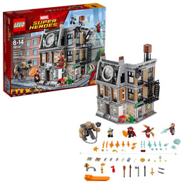 LEGO Super Heroes Sanctum Sanctorum Showdown 76108 Building Kit (1004 Piece)