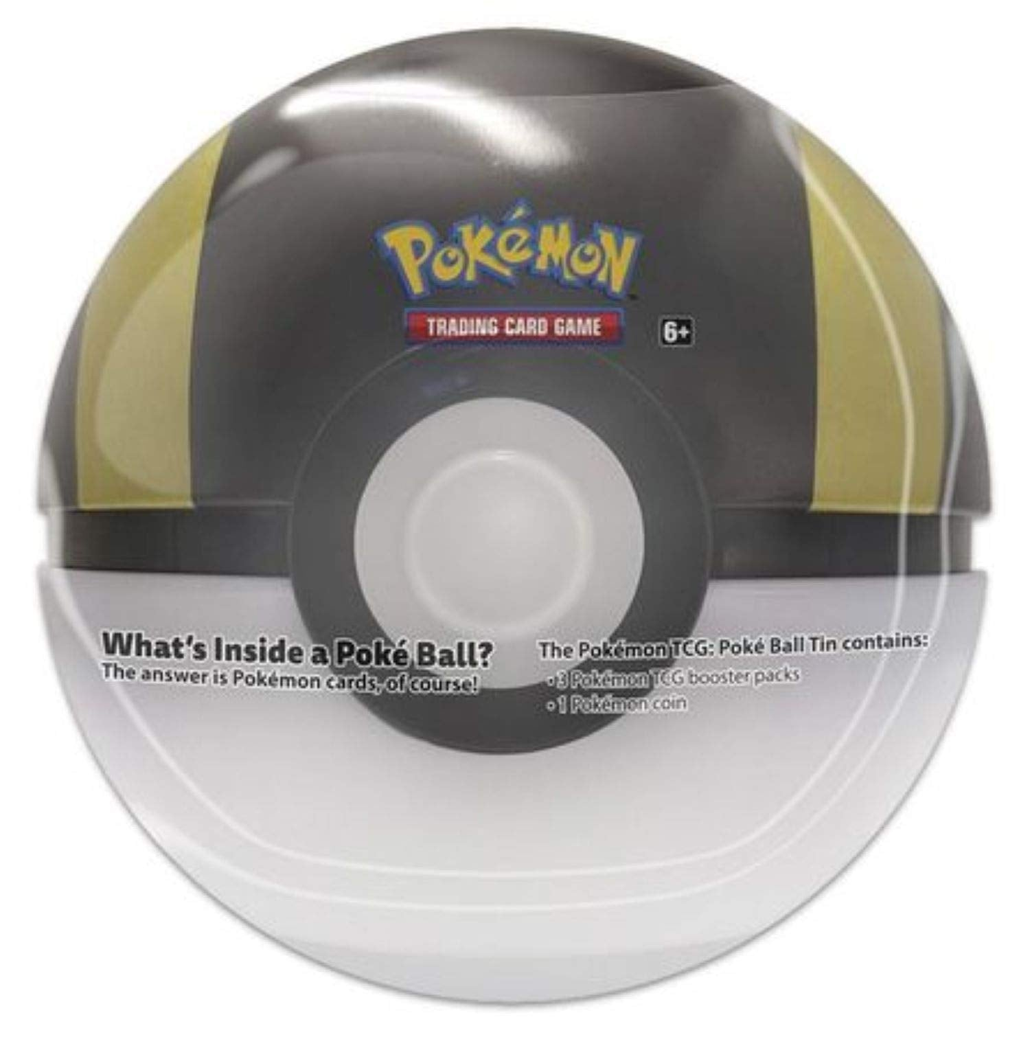 Pokemon 2020 Spring Poke Ball Tin- Ultraball, Gold