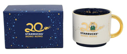 Starbucks HK 20th Anniversary Bearista Demitasse Mug, 3oz