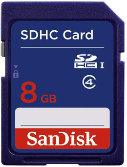 SanDisk 8GB SDHC Flash Memory Card SDSDB-008G-A14F