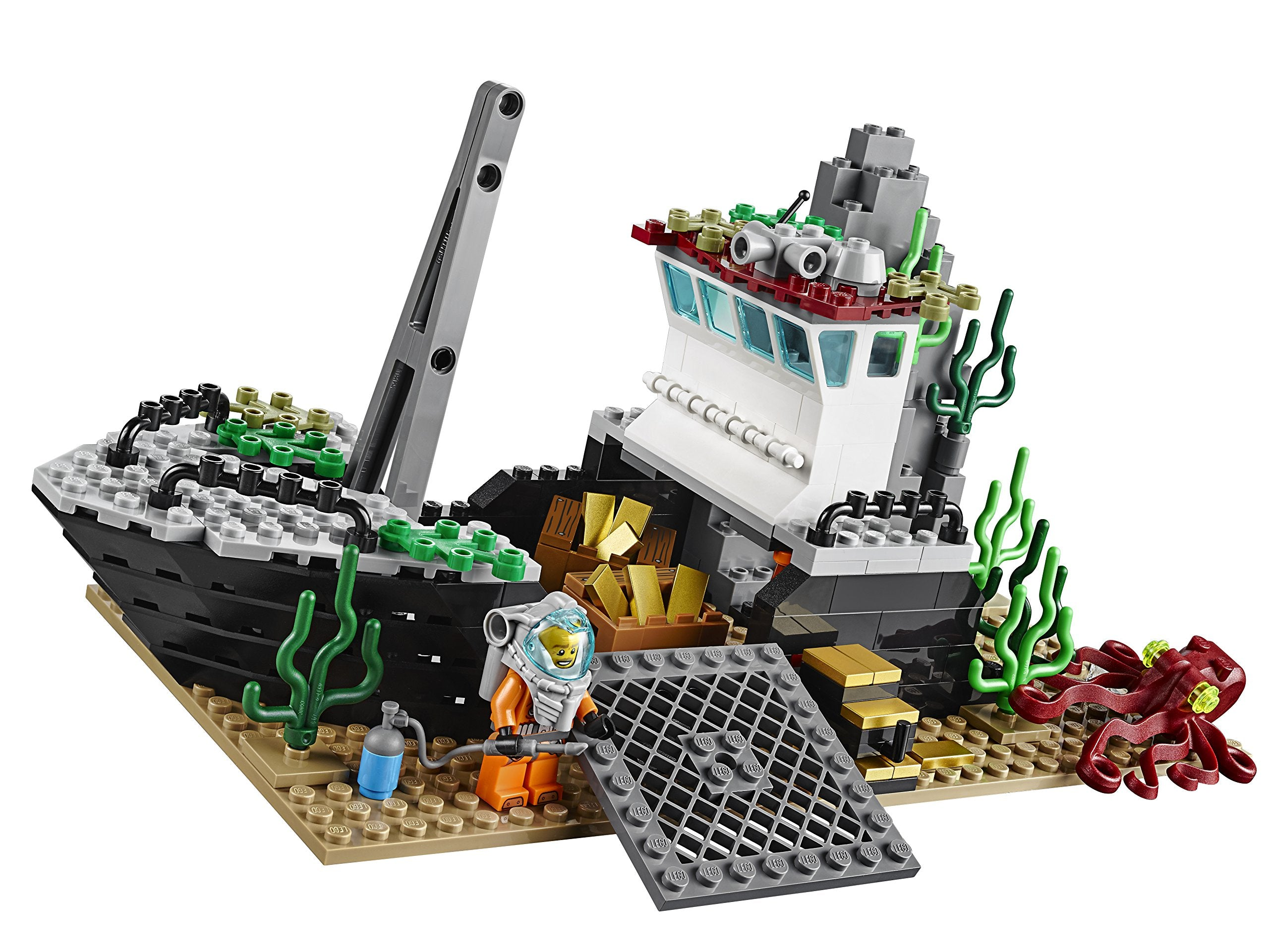 LEGO City Deep Sea Explorers 60095 Exploration Vessel Building Kit