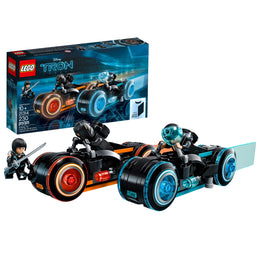 LEGO Ideas Tron Legacy Light Cycles 21314 Building Kit (230 Piece)