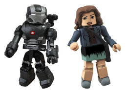 Diamond Select Marvel Minimates War Machine and Maya Hansen Action Figure