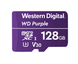 Western Digital 128GB WD Purple WD Purple MicroSDXC Card WDD128G1P0A