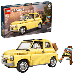 LEGO Creator Expert Fiat 500 10271 Toy Car Building Set for Adults, New 2020 (960 Pieces)
