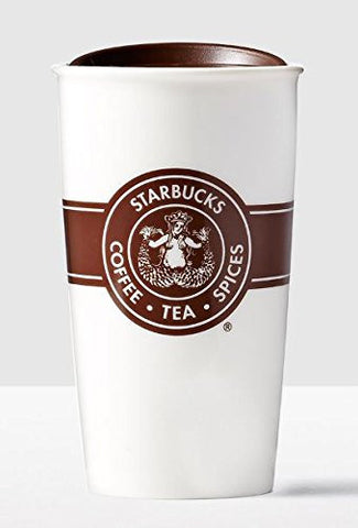 Starbucks Double Wall Traveler, Original Logo 12 oz