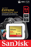 SanDisk Extreme 64GB CompactFlash Memory Card