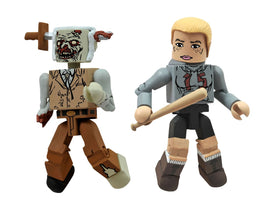 Diamond Select Toys Walking Dead Minimates Series 2: Amy and Stabbed Zombie