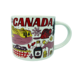 Starbucks Been There Series - Canada Mug, 14 Oz