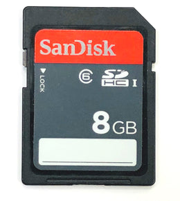 SanDisk Ultra 8GB SDHC Class 6 UHS-1 SDSDU-008G 30MB/S (Certified Refurbished)