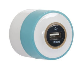 RCA USBNLTR Night Glow USB Home/Travel Charger