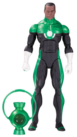 DC Collectibles Comics Icons: Green Lantern John Stewart: Mosaic Action Figure