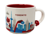 Starbucks You Are Here Series Toronto Ceramic Demitasse Ornament Mug, 2 Oz