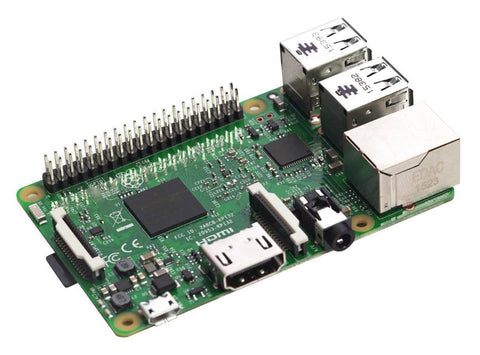 Raspberry Pi 3 Model B 1GB Project Board w 2.4A Power Supply