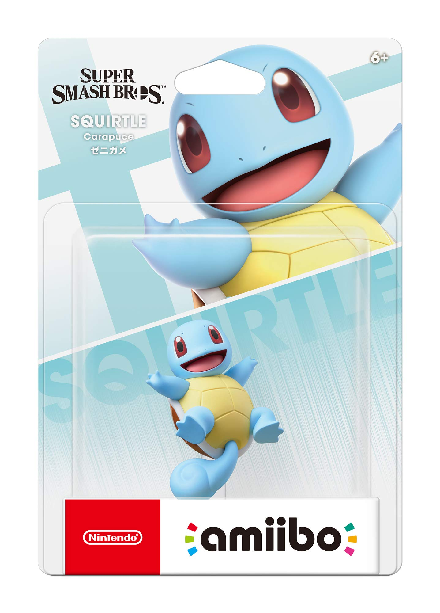 Nintendo Amiibo - Squirtle - Super Smash Bros. Series - Switch