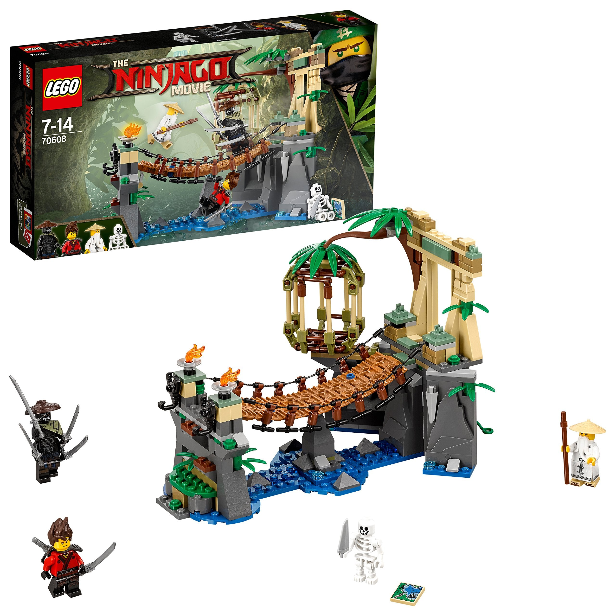 LEGO 70608 Ninjago Movie - Master Falls Building Kit (312 Piece)