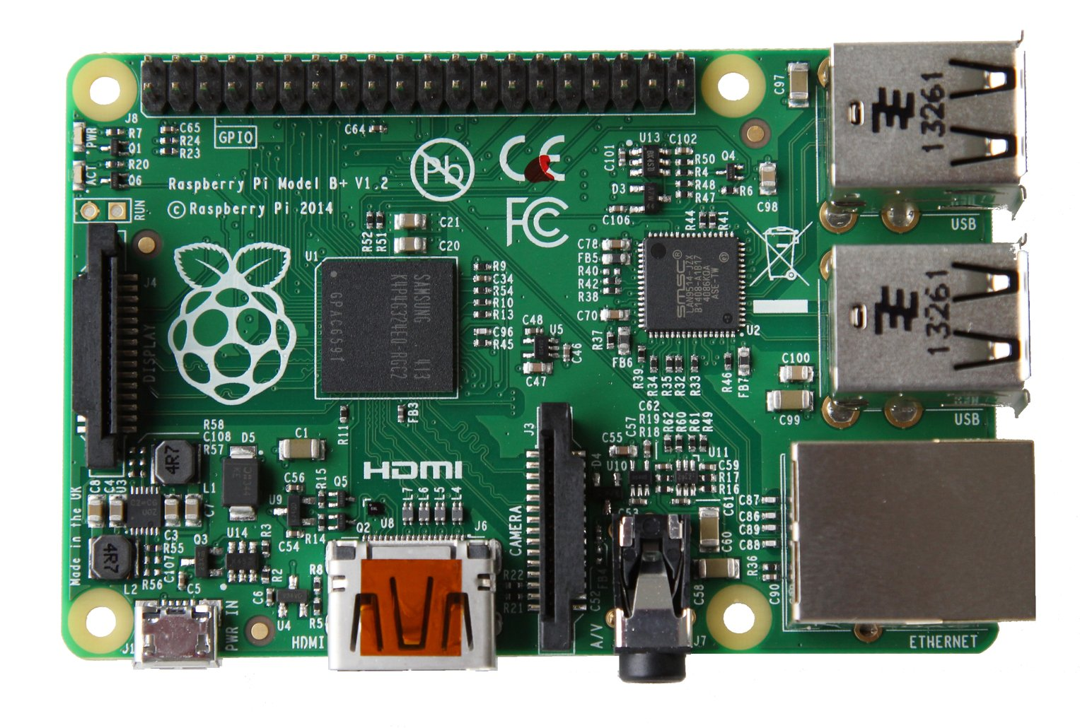 Raspberry Pi 1 Model B+ (B PLUS) 512MB Computer Board