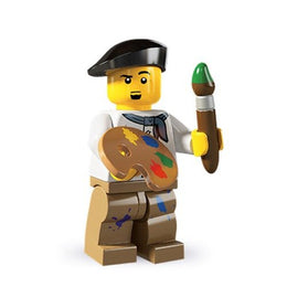 LEGO Series 4 Collectible Minifigure Painter Artist