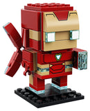 LEGO 6237545 Brickheadz Iron Man and Thanos Bundle, Avengers Infinity War (206 Pieces)